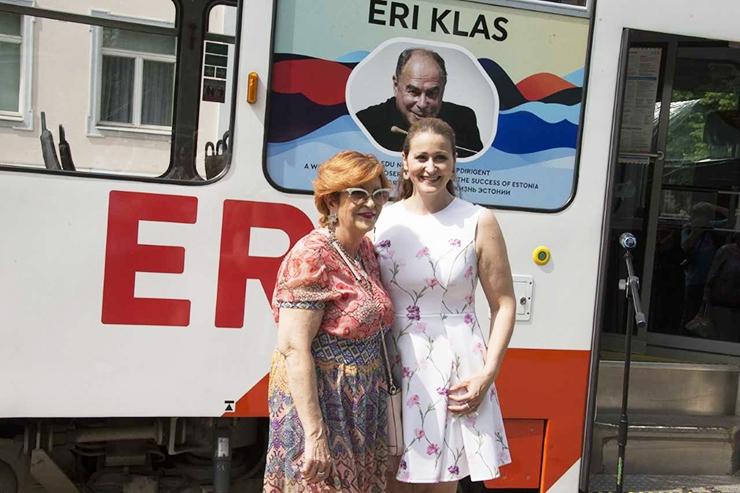 Päikesepoiss Eri Klas sai nimelise trammi