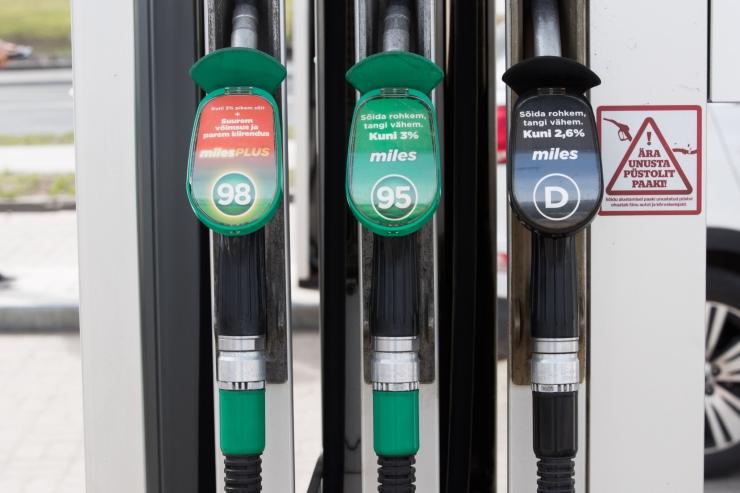 Baltikumis langesid kütusehinnad enim Vilniuses