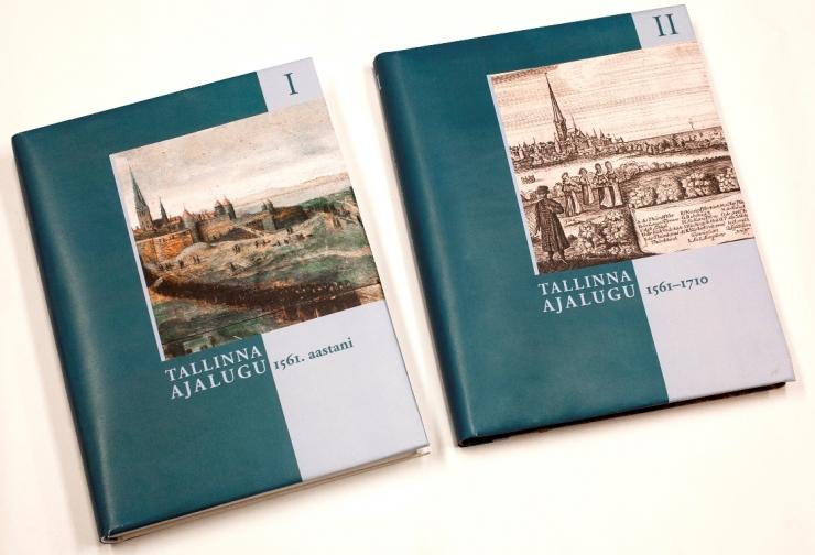 Tallinna Linnaarhiiv üllitab neljaosalise Tallinna ajaloo üldkäsitluse