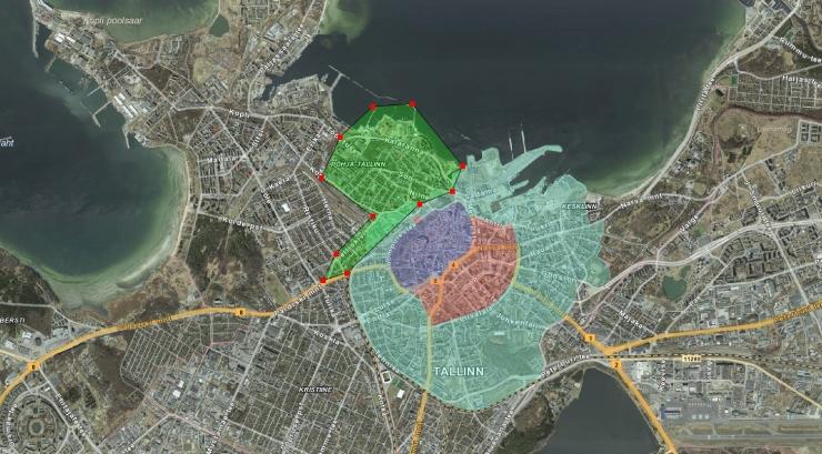 Põhja-Tallinna valitsus küsib Kalamaja ja Kelmiküla elanike käest, kuidas nad suhtuvad tasulise parkimisala laiendamisse