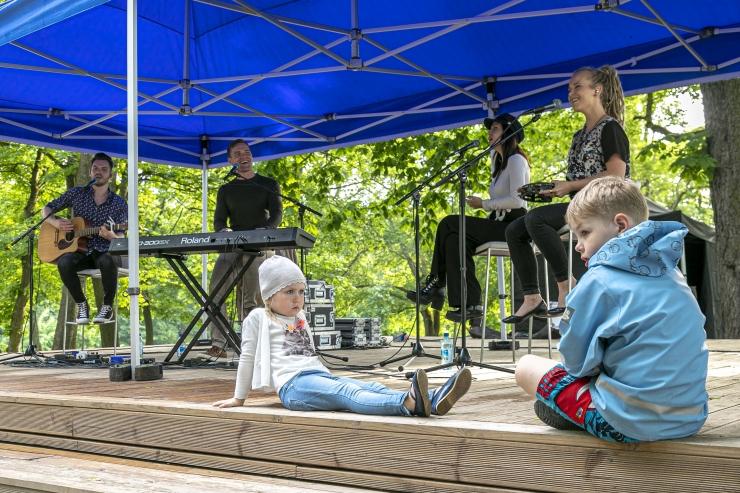 GALERII: Ott Leplandi kvartett  avas kesklinna suvesarja