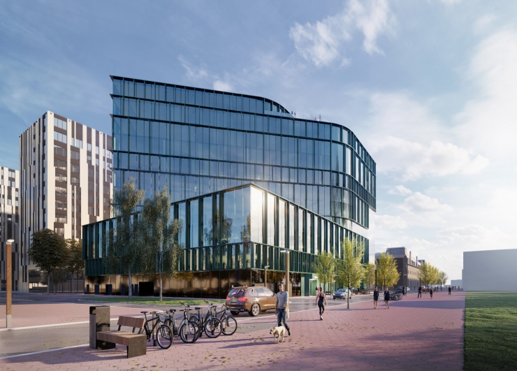 Ülemiste büroomaja arhitektuurikonkursi võitis Arhitektuuribüroo Pluss
