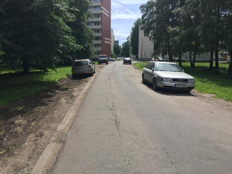 Mustamäel Kuklase tänaval hakatakse parkimiskohti rajama
