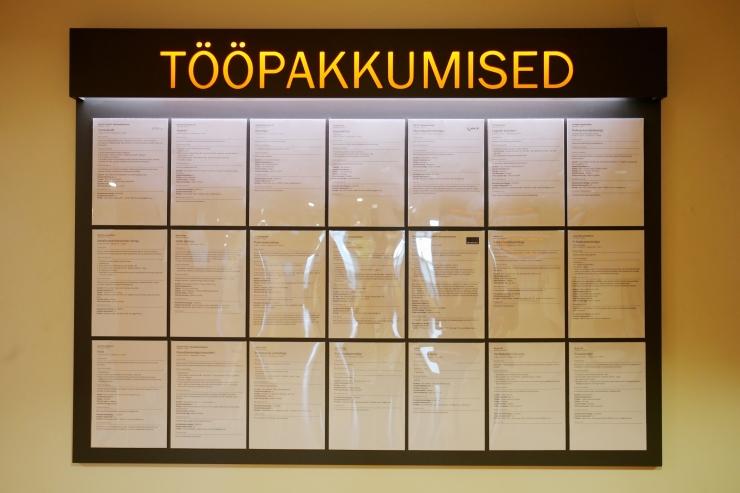 Eesti tööturul kestab nõudlus spetsialistide järele