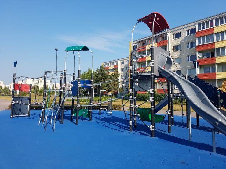Tallinnas Mustamäel saab suvel korda neli mänguväljakut