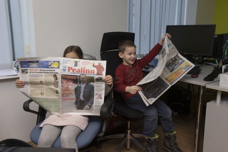 Ajaleht Pealinn jõuab postkastidesse täna