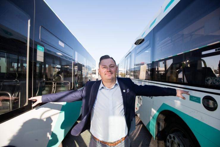 Tallinna Linnatranspordi AS ostab 100 uut bussi