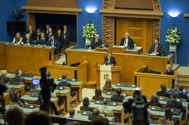 Riigikogu ootab huvilisi suvekuudel ekskursioonile