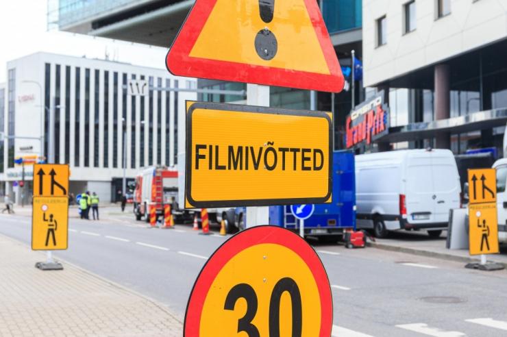 VAATA PLAANI! Pärnu maanteel toimuvad Hollywoodi filmivõtted sulgevad liikluse