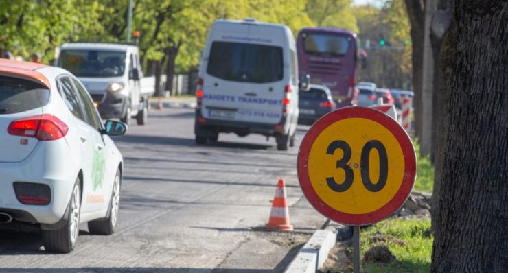 Tallinnas on ulatuslikud liikluse ja parkimise piirangud