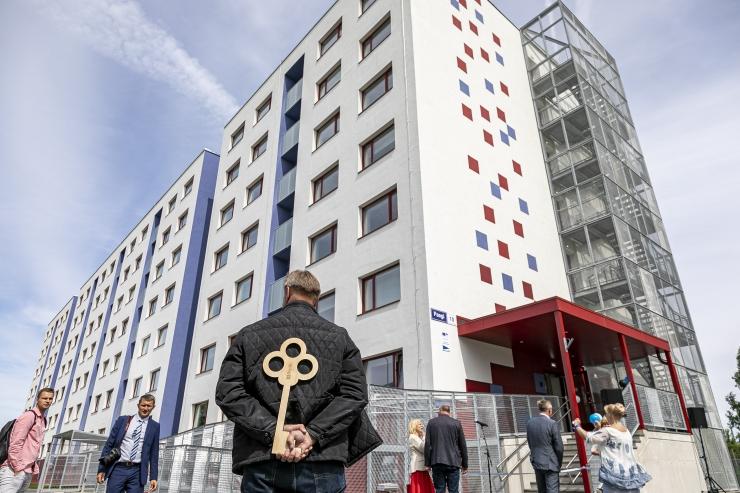 FOTOD: Paagi tn 10 korterelamu renoveeriti moodsaks ja energiatõhusaks