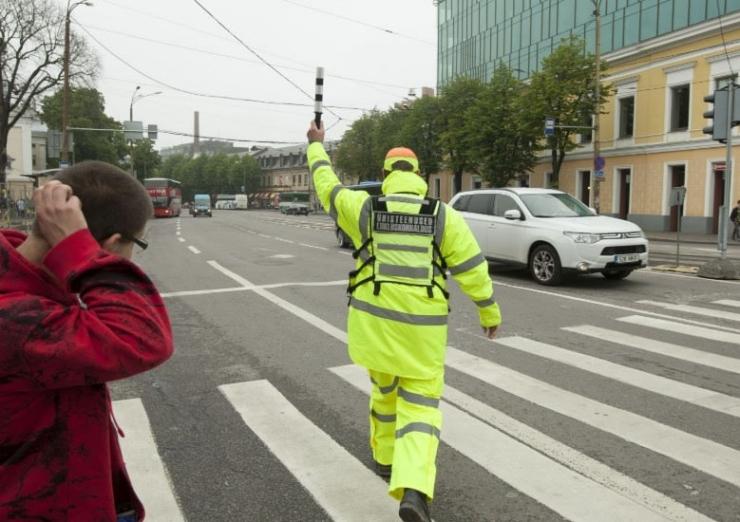 Tantsupeoga seotud liikluskorraldus Tallinnas