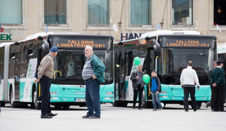 Laulupeoks pannakse käiku ajutine bussiliin ja 30 lisabussi