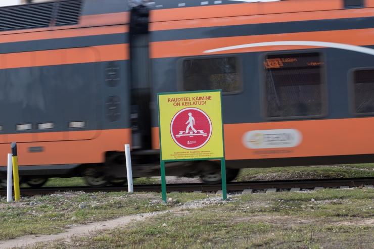 Tallinna linnapea soovis vähendada rongide sõidukiirust
