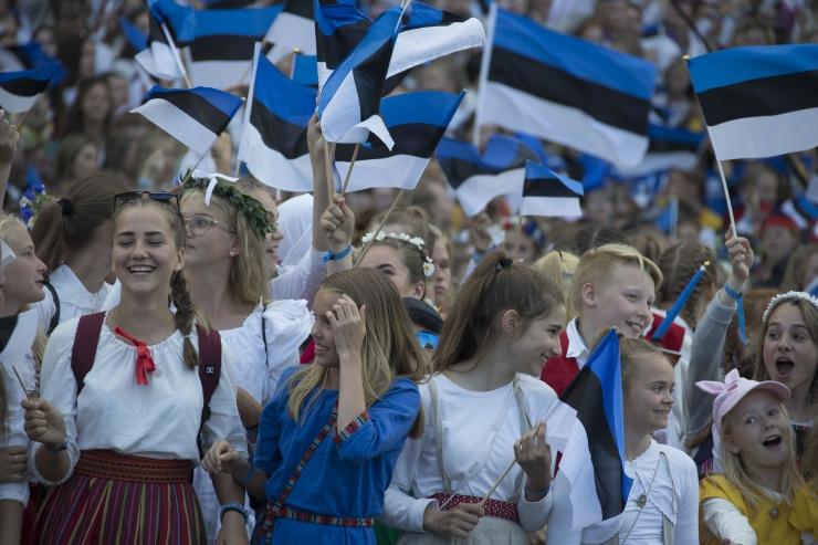 Washington Post: hiigelsuur koor aitas eestlastel leida oma identiteedi