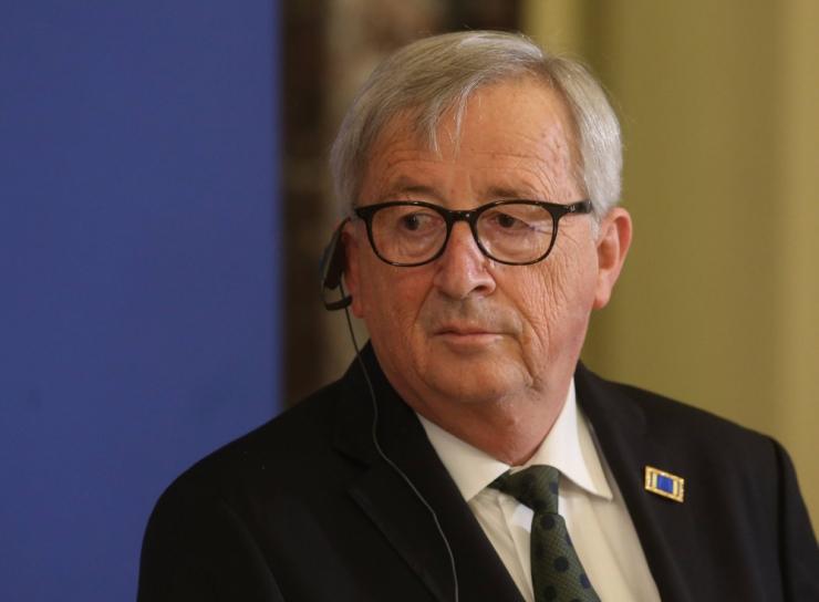 Juncker kohtub homme Simsoniga