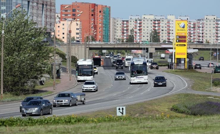 Transpordiamet soovitab kasutada õhtul ja hommikul liiklemiseks Laagna teed, mitte Punast tänavat