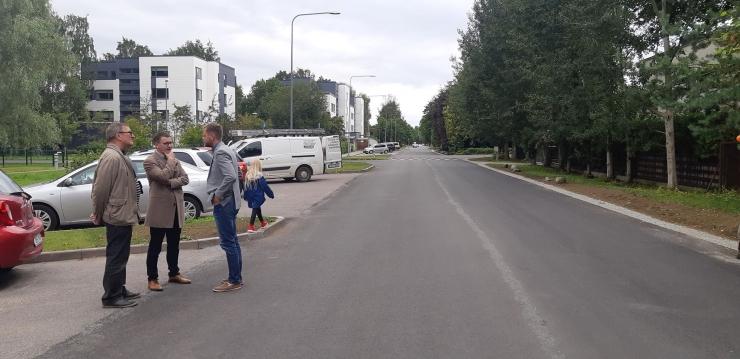 Kristiine linnaosas lõppesid Räägu ja Iirise tänavate taastusremonttööd
