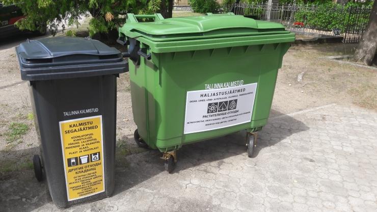 Tallinn paigutab kalmistutele uued jäätmemahutid