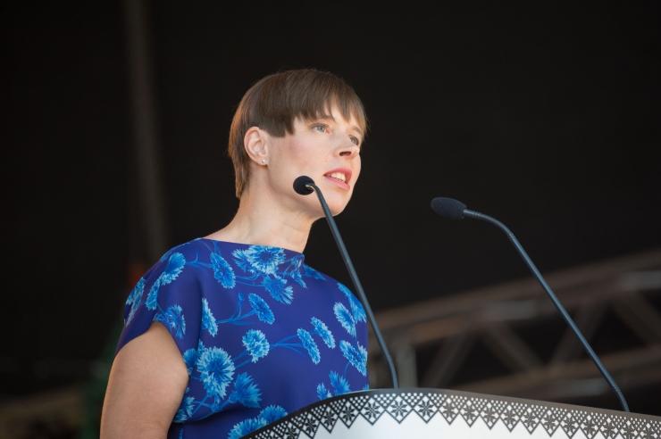 President Kersti Kaljulaid on töövisiidil Pariisis