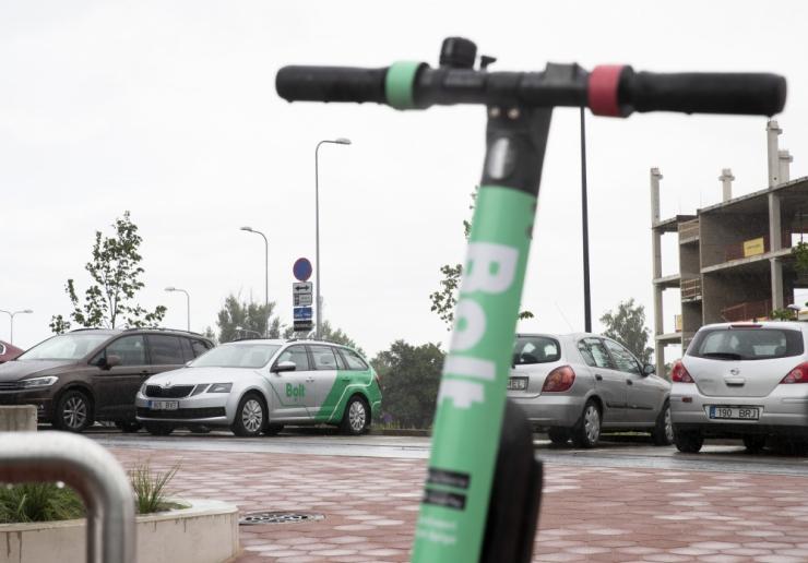 Bolt plaanib tõukerataste arvu Tallinnas kahekordistada