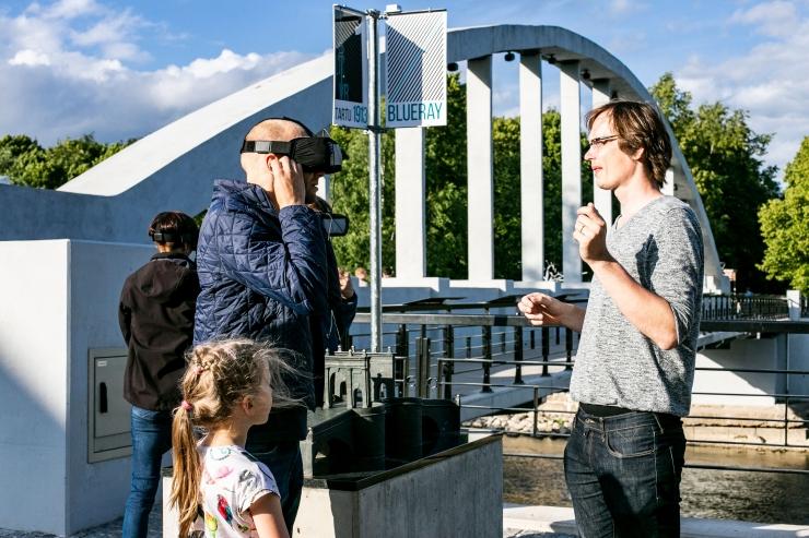 FOTOD: Tartu Ülikooli võrsefirma väärtustab virtuaalreaalsuse abil õppimist