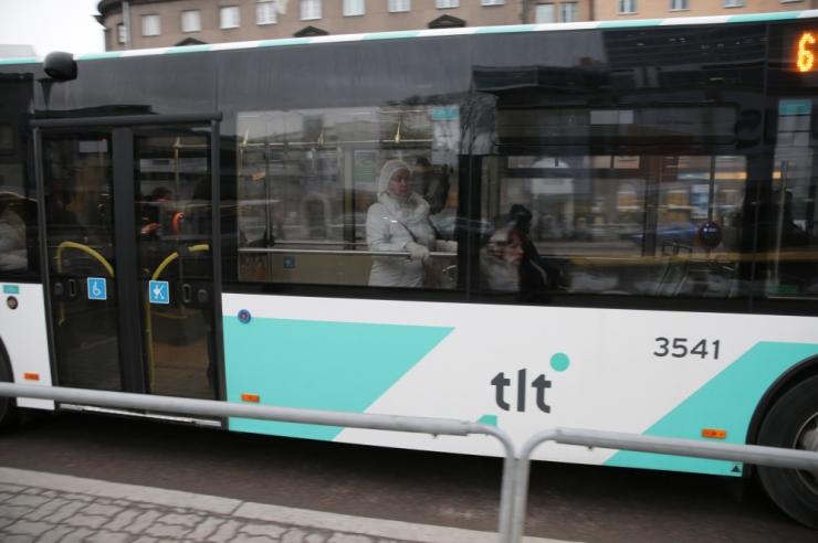 Lennujaama teel sõitvad bussid suunatakse ümbersõidule