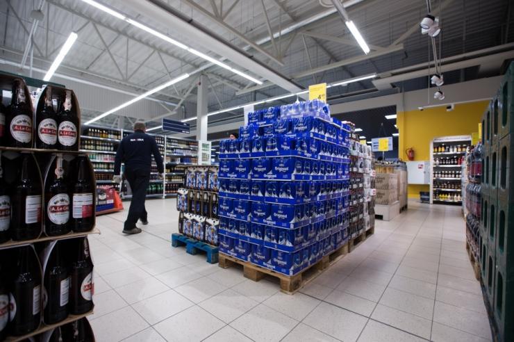 Tänasest langeb Lätis kange alkoholi aktsiis