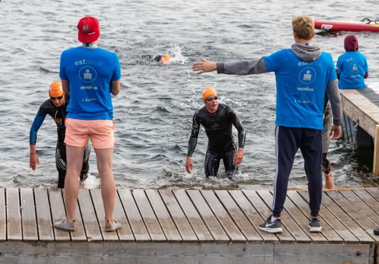 Madala veetemperatuuri tõttu muutub IRONMAN Tallinna ujumisraja asukoht