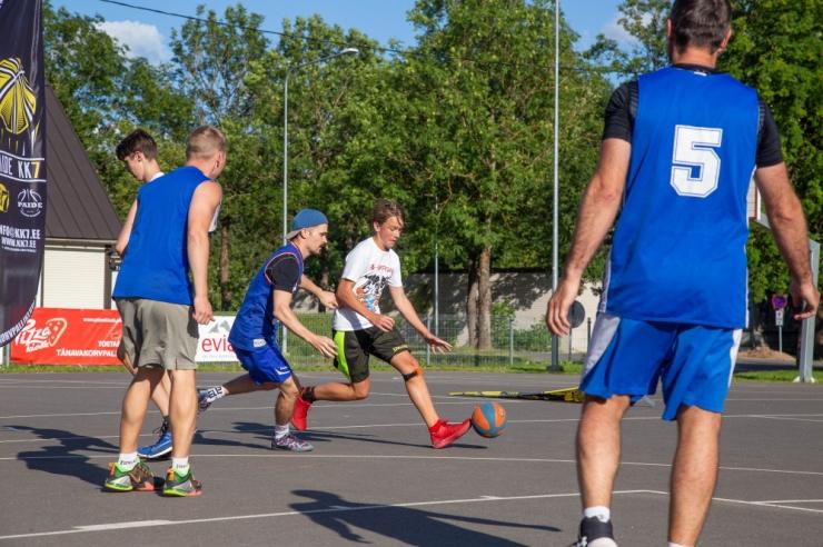 Nõmmel toimub tänavakorvpalli Eesti meistrivõistluste etapp