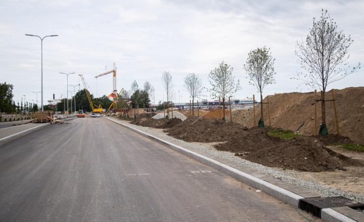 Reidi tee ehitus toob uueks nädalaks liiklusmuudatuse