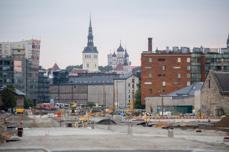Tallinna Kommunaalamet: Reidi tee ehitus on graafikus ja valmib aasta lõpuks