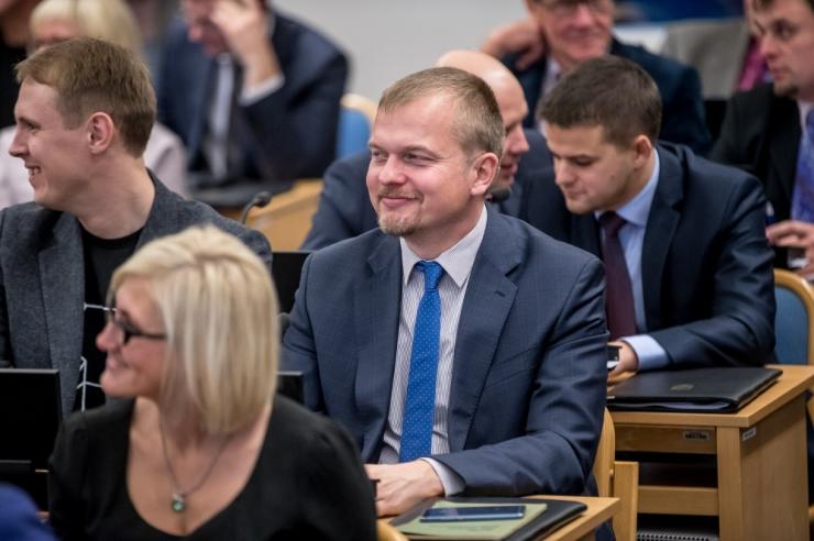 Jaak Juske peatas oma volitused Tallinna linnavolikogus