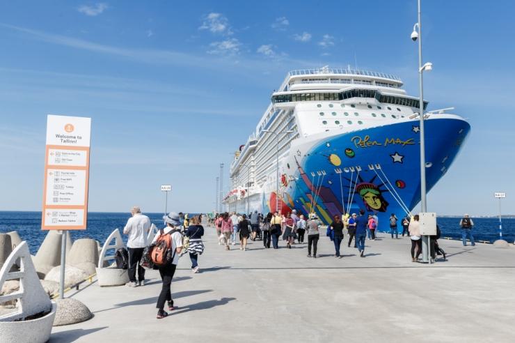 Teisipäeval külastab Tallinna kuni 4000 kruiisituristi