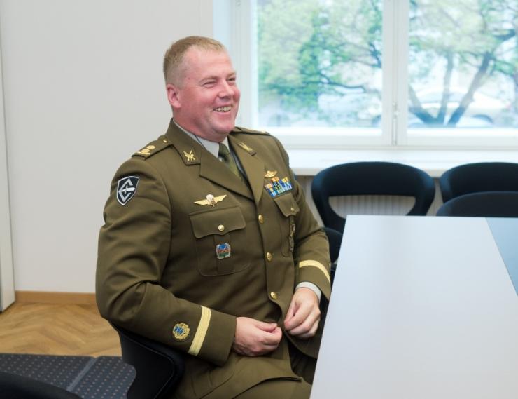Kaitseliidu ülem Riho Ühtegi saab brigaadikindrali auastme