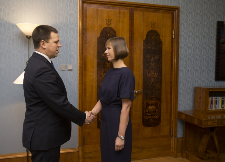 President ja peaminister arutavad täna õhtul poliitilist olukorda
