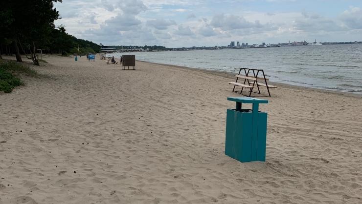Pirita rannas on vesi puhas