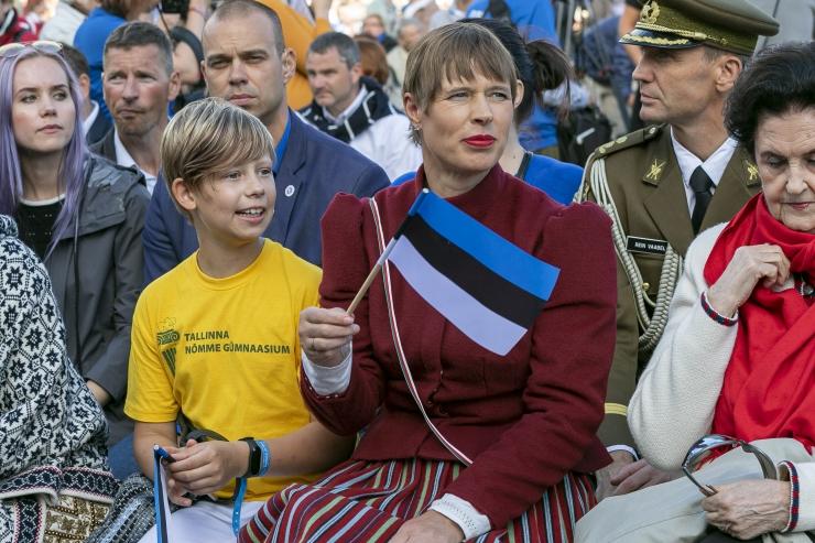 President Kaljulaid: ministri katse tagandada politseijuht teadlikult seadust rikkuma minnes on katse ajada kraavi meie õigusriik