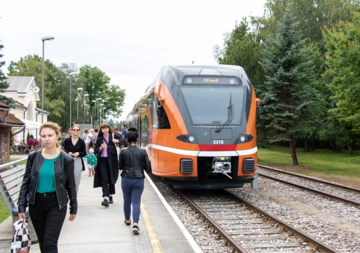 Keila, Paldiski-, Riisipere- ja Kloogaranna-suunaliste rongide sõiduplaanis on muudatused