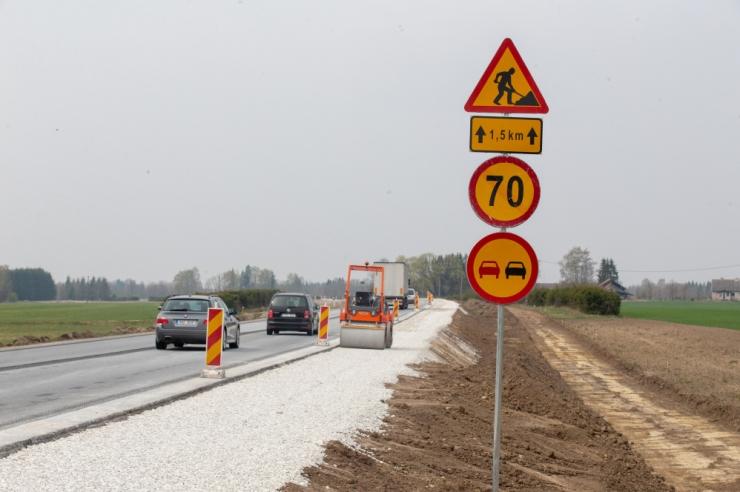 Pärnu maanteel on liikluskorralduse muudatused