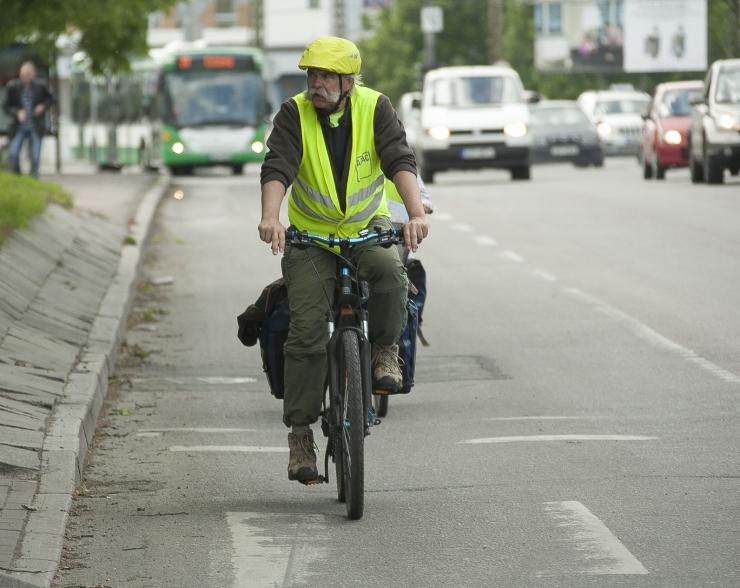 Täiskasvanud jalgratturi 5 enimlevinud viga linnaliikluses