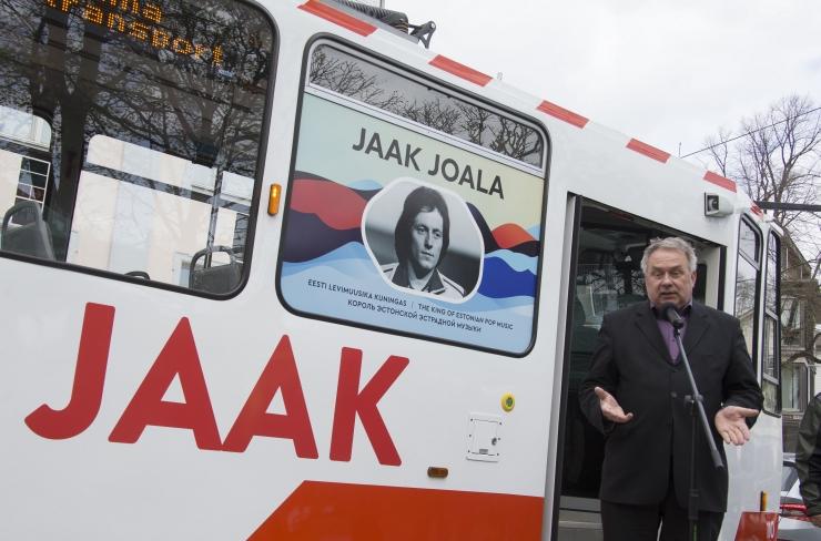 Jaak Joala tramm viib laulja austajad sõitma Kadriorust Tondile