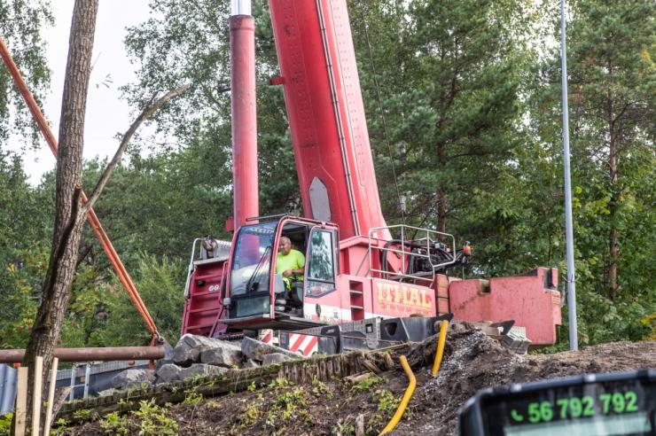 Tallinnas avatakse liiklusele Ehitajate tee