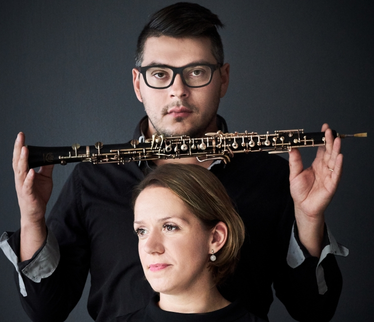 Harvaesinev kooslus oboest ja häälest Duo ObSolute annab suve ainukese kontserdi