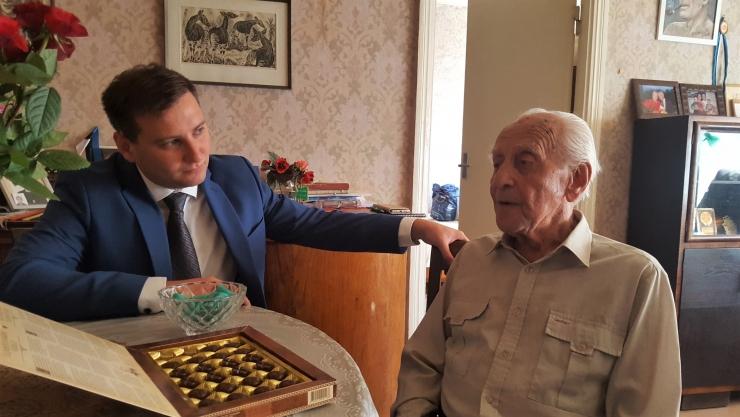 Vanim kesklinlane sai 105-aastaseks