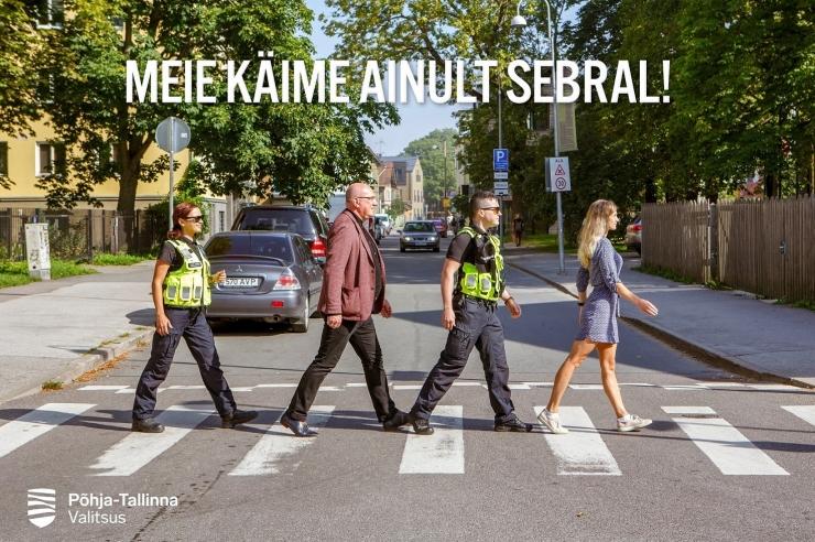 Põhja-Tallinn käivitas 1. septembri eel liiklusohutuse alase kampaania