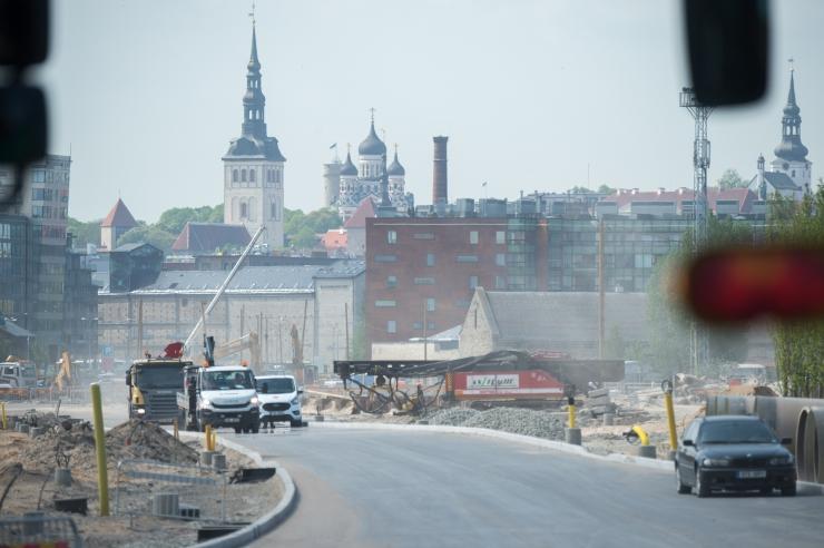 Tänasest muutub Reidi tee ehitusel liikluskorraldus