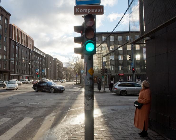 Politseinikud kontrollivad täna kõikjal Eestis jalakäijate liikluskäitumist