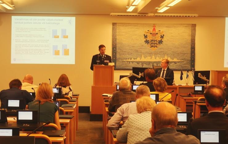 Põhja prefekt: Tallinn on turvaline, kuid mureks on lähisuhtevägivald