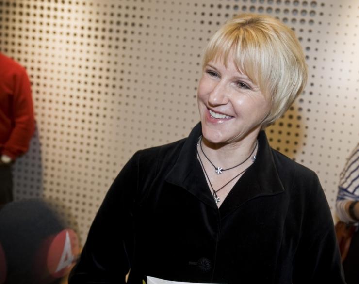 Rootsi välisminister Margot Wallström lahkub ametist